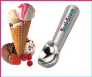 Eazi-Scoop Innovative Gel Filled Ice Cream Scoop makes easy work of even the hardest ice cream!
